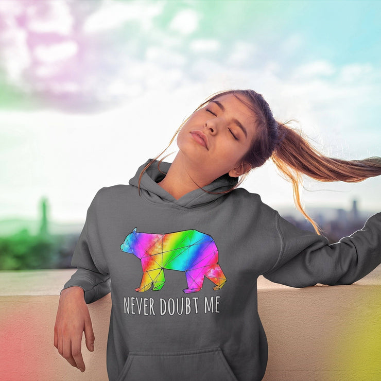 Never Doubt Me Hoodie Hoodie Grow Through Clothing