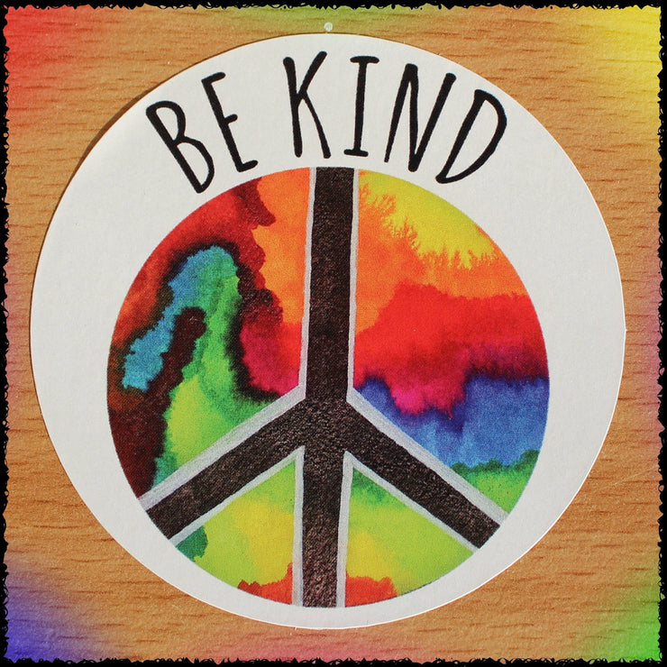 Original Hand-Painted Stickers Sticker Grow Through Clothing Be Kind Single Sticker