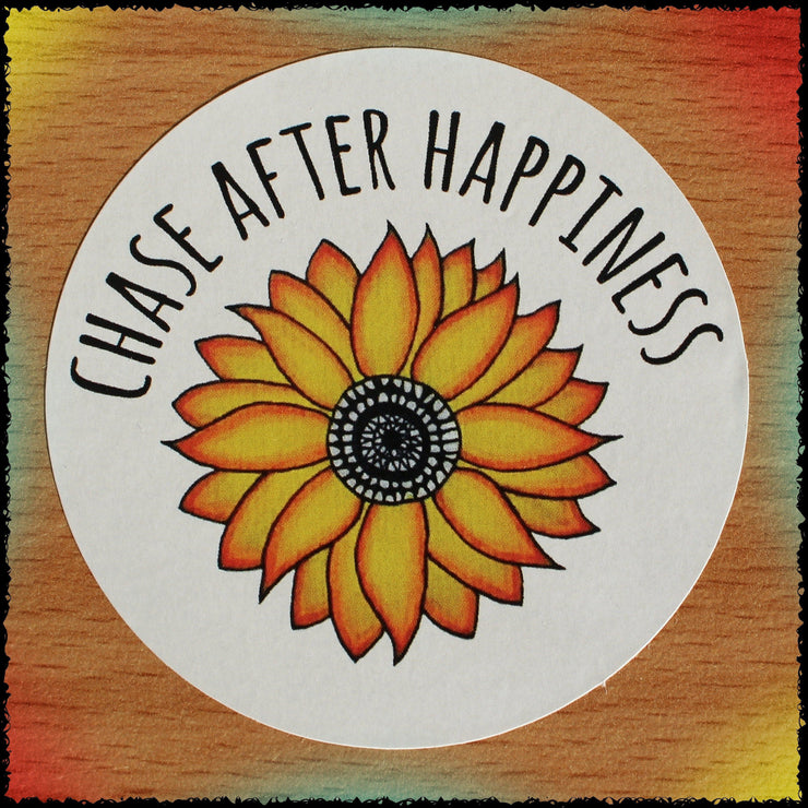 Original Hand-Painted Stickers Sticker Grow Through Clothing Chase Happiness Single Sticker