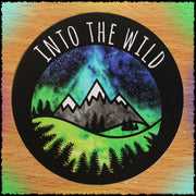 Original Hand-Painted Stickers Sticker Grow Through Clothing Into The Wild Single Sticker