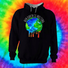 Our Earth Is Melting Hoodie Hoodie Grow Through Clothing Black Front Extra Small Unisex