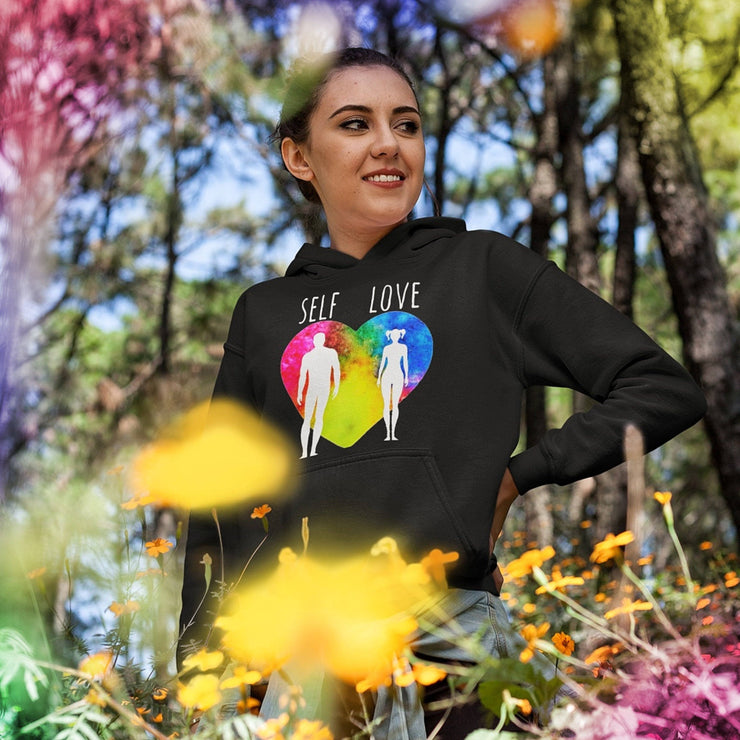 Self Love Hoodie Hoodie Grow Through Clothing