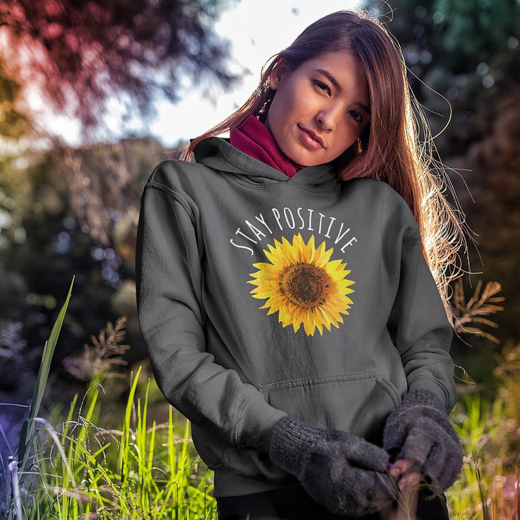 Stay Positive Hoodie Hoodie Grow Through Clothing