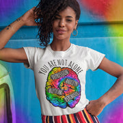 You Are Not Alone Tee T-shirt Grow Through Clothing