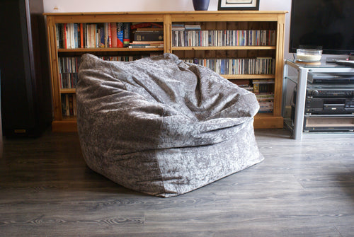large grey home cinema beanbag grey living room beanbag grey