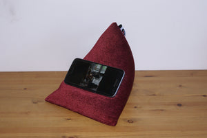 Techbed Mini Sale - mobile phone beanbag stand for all iPhone Samsung Galaxy Xperia Huawei Google & iPad Mini or kindle