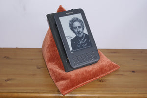 Orange Techbed iPad pillow kindle cushion tablet stand arthritis iPad neck parkinsons sore wrists watch movies in bed