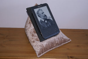 Mink Techbed Kindle Cushion watch Netflix in bed iPad Pillow tablet stand arthritis parkinsons