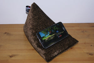 Chocolate Brown Techbed Mini Samsung S7 Sky Sports golf landscape stand