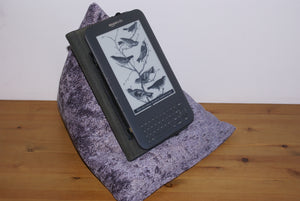 Heather Techbed kindle beanbags stand iPad Pillow arthritis aid to help read