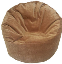 kids brown beanbag