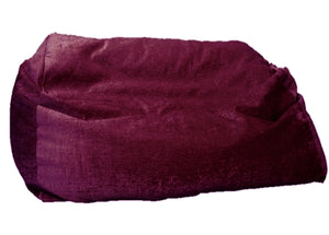 luxury giant sofa beanbag purple