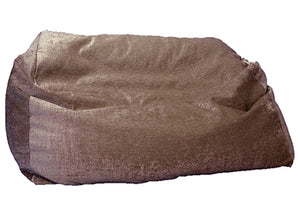 Luxury giant sofa beanbag brown