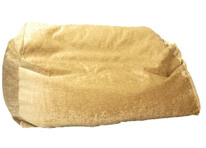 luxury giant sofa beanbag sandy light brown