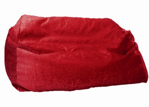 luxury giant red sofa beanbag red