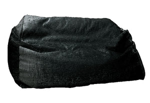 Luxury giant sofa beanbag black