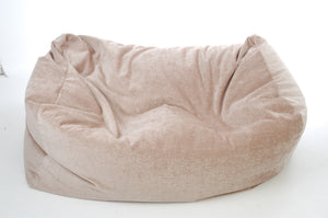 giant luxury sofa beanbag sandy light brown sofa beanbag