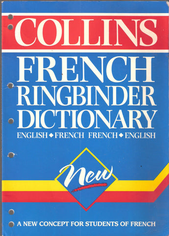 Livre ISBN 0004709829 Collins French Ringbinder Dictionary English-French French-English