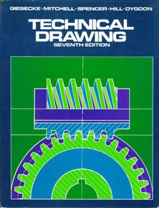 Livre ISBN 0023426101 Technical Drawing, Seventh Édition (Frederick E. Giesecke)