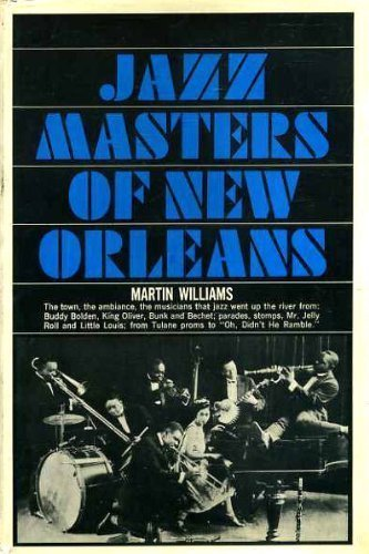 Livre ISBN 0026293404 Jazz Masters of New Orleans (Martin T. Williams)
