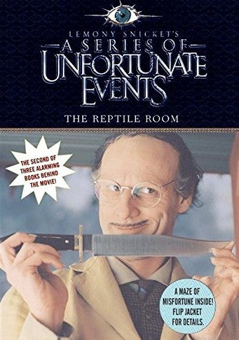 Livre ISBN 0060758074 A series of unfortunate events : A Series of Unfortunate Events: The Reptile Room Movie Tie-in Edition (Lemony Snicket)