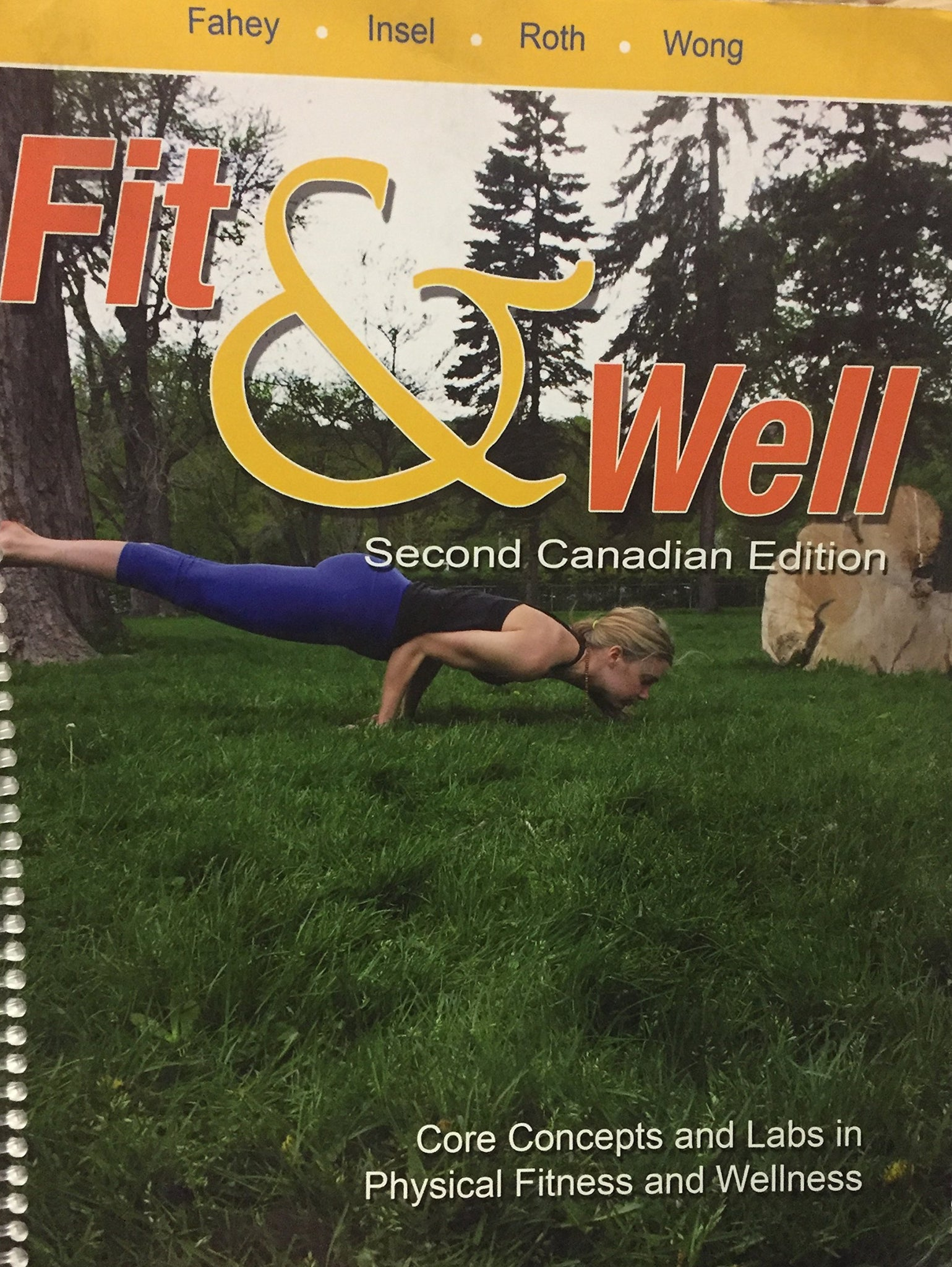 Livre ISBN 0071059091 Fit & Well Second Canadian Edition