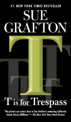 Livre ISBN 0425224848 T is for Trespass (Sue Grafton)