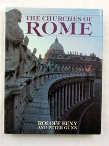 Livre ISBN 0671434470 The Churches Of Rome (Roloff Beny)