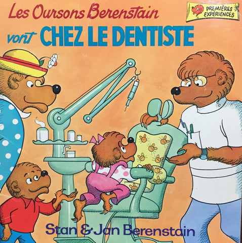 Livre ISBN 0717222039 Les Oursons Berenstain : Les Oursons Berenstain vont chez le dentiste (Stan & Jan Berenstain)