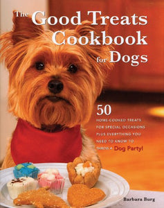 Livre ISBN 0785825665 Good Treats Cookbook for Dogs (Barbara Burg)