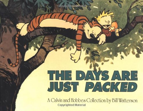 Livre ISBN 0836217357 The Days Are Just Packed (Bill Watterson)