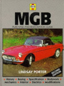 Livre ISBN 0854296646 MGB : Purchase and Restoration Guide (2nd edition) (Lindsay Porter)