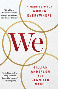 Livre ISBN 1501126288 We: A Manifesto for Women Everywhere (Gillian Anderson)