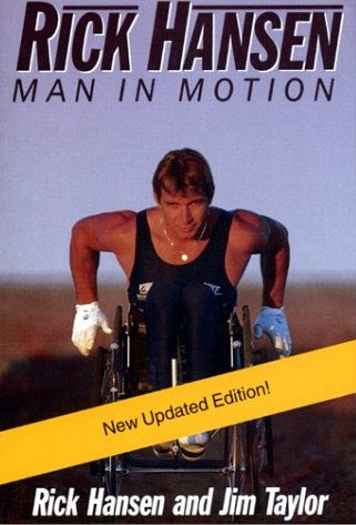 Livre ISBN 1550547593 Rick Hansen: Man in motion