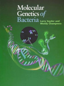 Livre ISBN 1555811027 Molecular Genetics of Bacteria (Larry Snyder)
