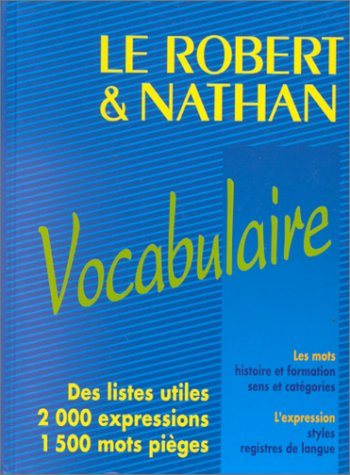 Livre ISBN 2091810371 Bescherelle : Vocabulaire - Le Robert - Nathan