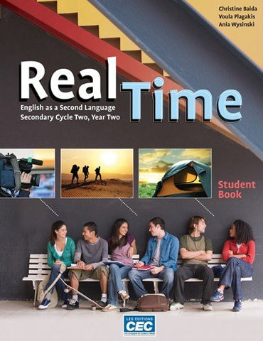 Livre ISBN 2761726146 Real Time : English as a Second Language (Secondary Cycle Two, Year Two)