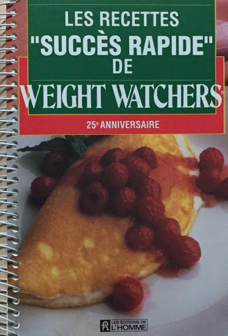 Livre ISBN 2761907256 Les recettes succès rapide de Weight Watchers (Weight Watchers)