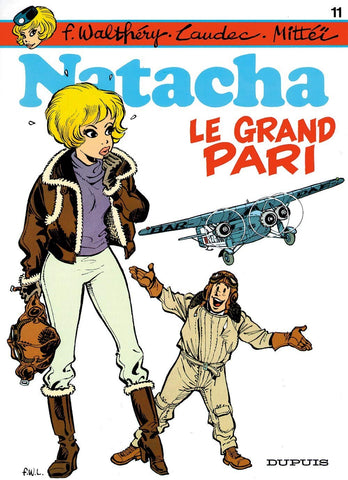 Livre ISBN 2800112549 Natacha # 11 : Le grand pari