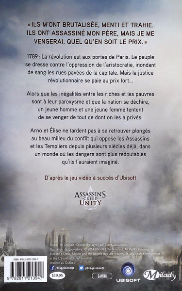 Assassin's Creed : Unity (FR) (Oliver Bowden)