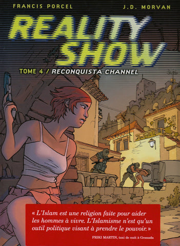 Livre ISBN 287129884X Reality Show # 4 : Reconquista Channel (Jean-David Morvan)