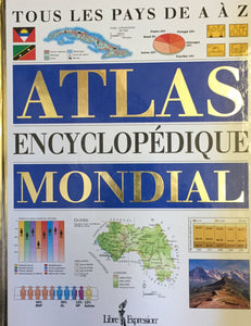 Livre ISBN 2891117395 Atlas encyclopedique mondial