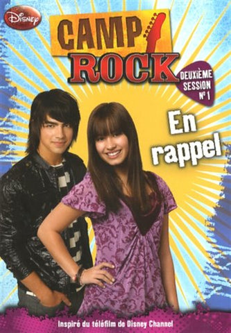 Livre ISBN 2895439745 Camp Rock # 2e session, no.1 : En rappel (Phoebe Appleton)