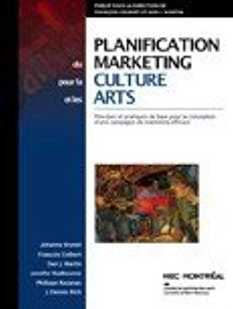 Livre ISBN 2980860239 Planification du marketing pour la culture et les arts