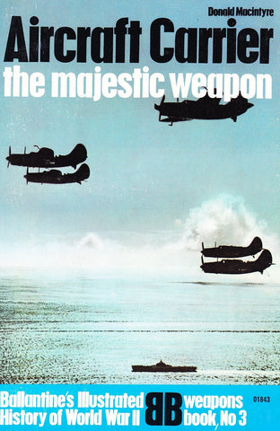 Livre ISBN  Aircraft Carrier: The Majestic Weapon