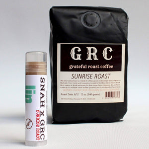 lip balm - coffee - a SNAH x GRC collaboration