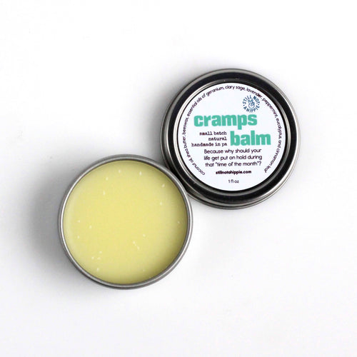 cramps balm - 1oz | menstrual cramps relief