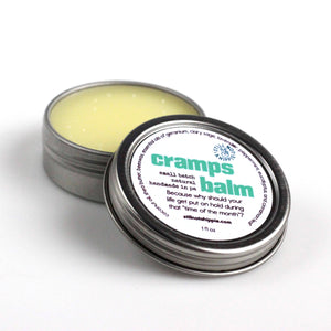 cramps aromatherapy balm - 1oz | menstrual cramps relief
