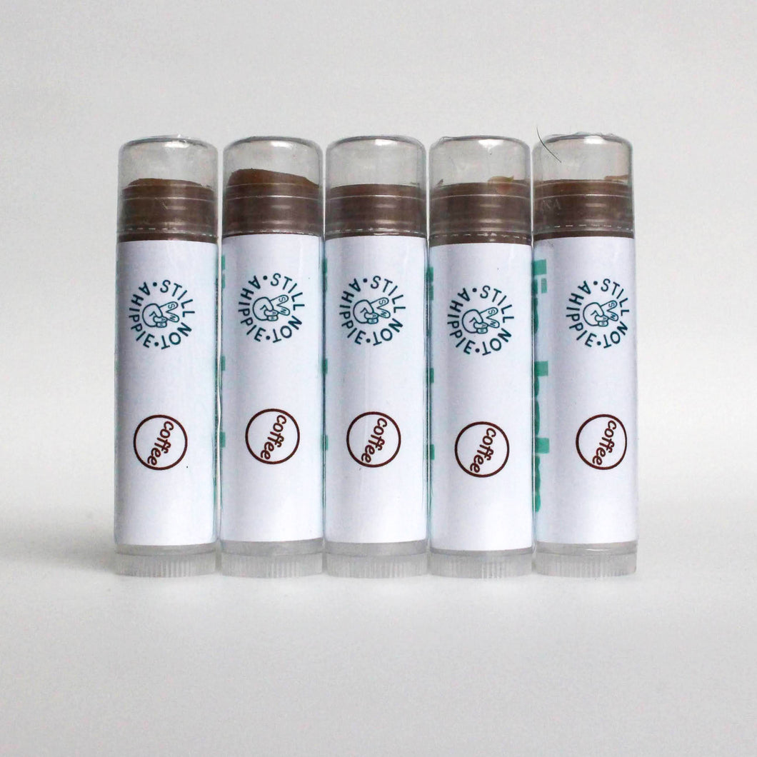 lip balm 5pk - coffee