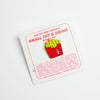 Small Fry & Drink Hard Enamel Pin